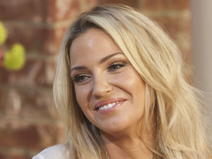 Sarah Harding, 'This Morning' TV Programme, London