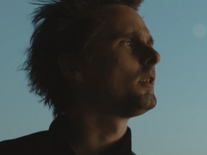 Matt Bellamy in Muse&#39;s &#39;Supremacy&#39; music video.