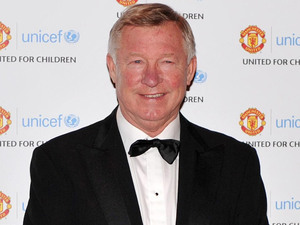 Manchester United manager Sir Alex Ferguson arrives at the Manchester United 'United for UNICEF' gala dinner at Old Trafford, Manchester.