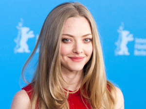Amanda Seyfried attends the Berlin International Film Festival to promote her film Lovelace.