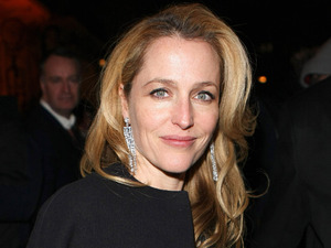 Gillian Anderson attends The Charles Finch and Chanel pre-BAFTA dinner in London.