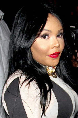 Lil Kim Spotted in West Hollywood Featuring: Lil Kim Where: West Hollywood , California, United States