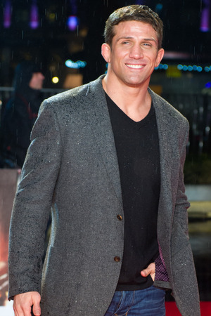 A Good Day To Die Hard UK premiere: Alex Reid