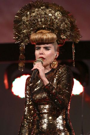 BAFTA Ceremony: Paloma Faith performs.