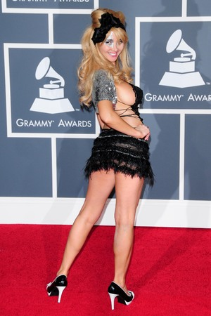 Nadeea Volianova, the Grammy Awards 2010