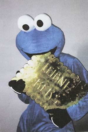 Photograph and ransom note sent by the Cookie Monster thief