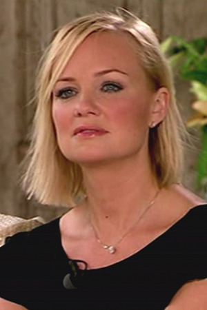 Emma Bunton during the judges holiday homes stage of TV show ' The X Factor '