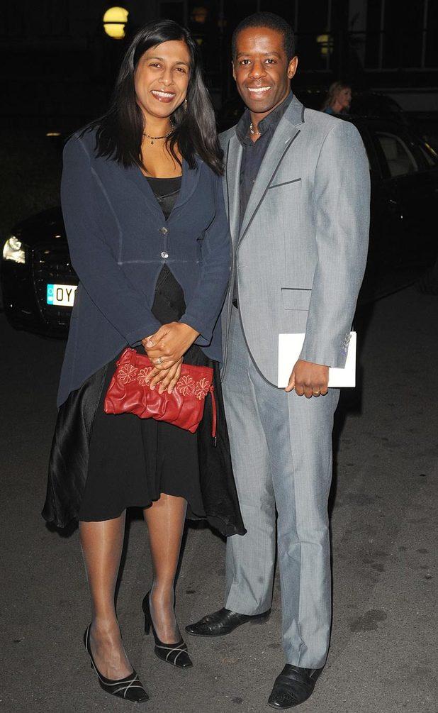 Lolita Chakrabati and Adrian Lester