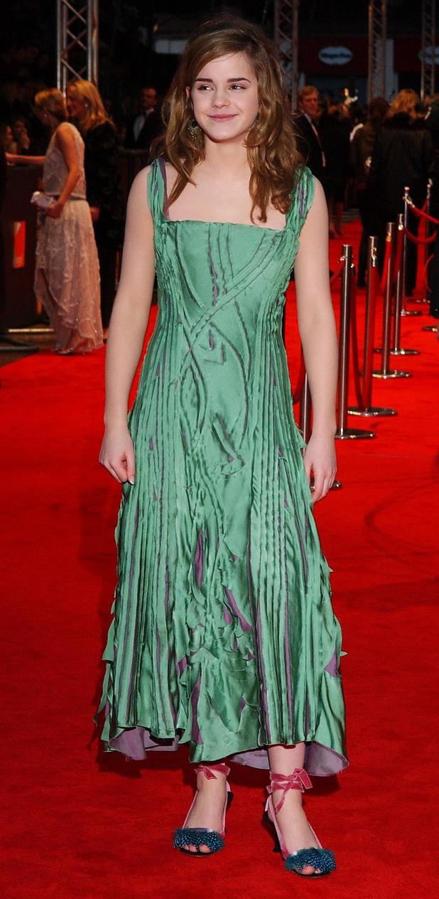 Emma Watson, BAFTAs 2005