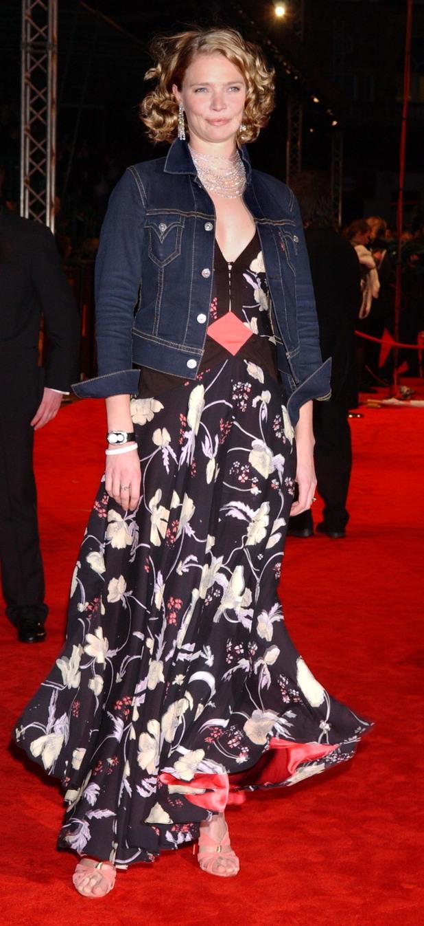 Jodie Kidd, BAFTAs, 2005