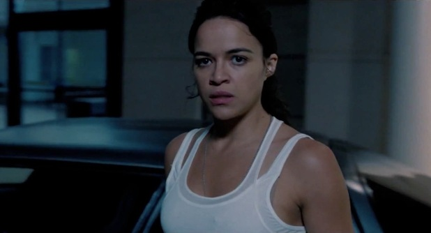 Michelle Rodriguez in 'Fast & Furious 6'.