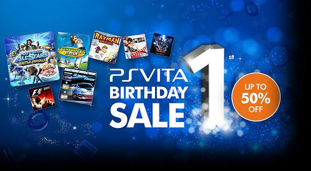 PlayStation Vita one year sale