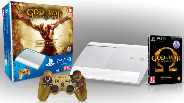 God of War: Ascension Super Slim PS3 bundle