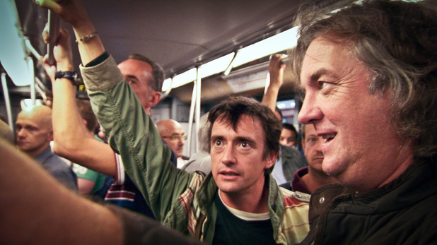 Top Gear - 10/02/2013 - Episode 3: Richard Hammond and James May on the Milan Metro