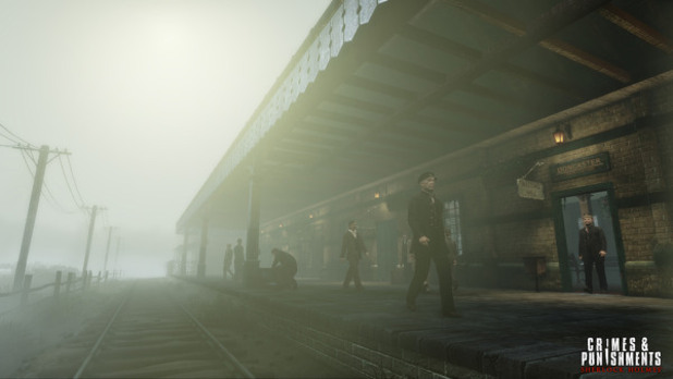 'Crimes & Punishments: Sherlock Holmes' screenshot