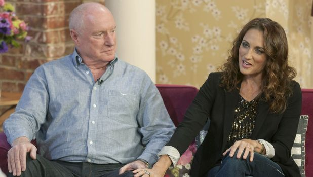 Ray Meagher and Georgie Parker appear on 'This Morning'
