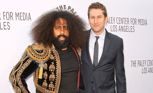 Comedy Bang Bang's Reggie Watts and Scott Aukerman