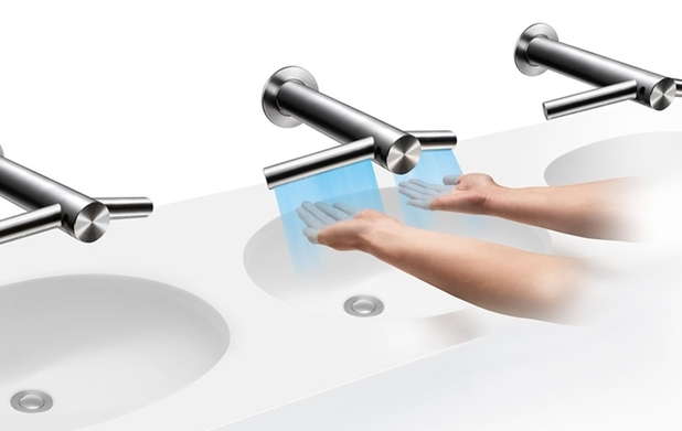 Dyson Airblade Tap that dries your hands