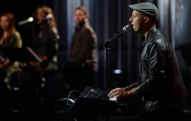 Nick Boddington performs during the boys solo round of Hollywood week on 'American Idol'