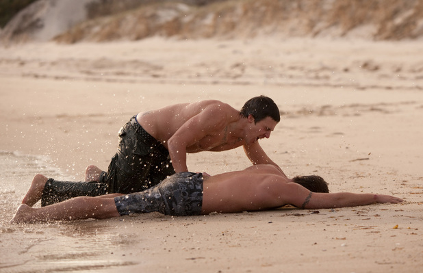 Brax finds Heath.