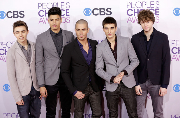 39th Annual People's Choice Awards at Nokia Theatre L.A. Live - ArrivalsFeaturing: (L-R) Singers Nathan Sykes, Siva Kaneswaran, Max George, Tom Parker, Jay McGuiness of The Wanted Where: Los Angeles, California, United States When: 09 Jan 2013 Credit: Brian To/WENN.com