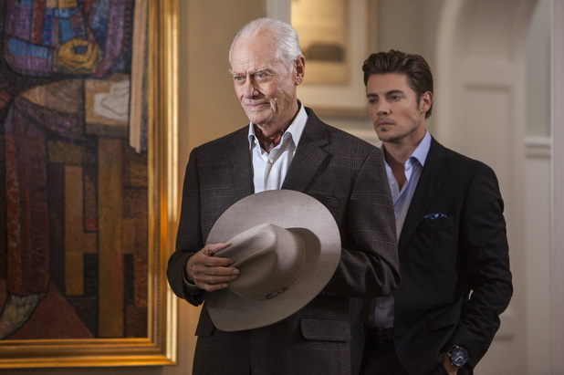 Dallas, season 2, episode 2, JR and John Ross