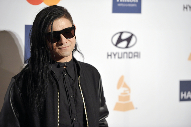 Skrillex, Clive Davis&#39;s pre-Grammy Awards 2013 gala