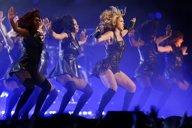 Beyoncé, Super Bowl half-time show