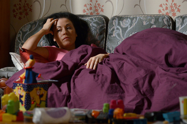 Kat is devastated after her argument with Alfie.