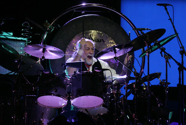 Mick Fleetwood of Fleetwood Mac on the 2009 'Unleashed' tour