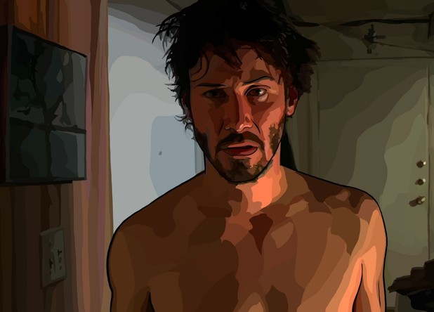Keanu Reeves in A Scanner Darkly (2006)