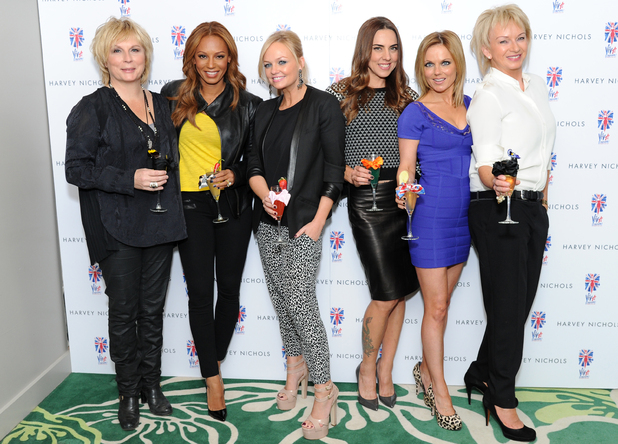 Writer Jennifer Saunders, producer Judy Craymer and members of the cast were joined by special guests Mel B, Emma Bunton, Mel C and Geri Halliwell to celebrate the launch of the Viva Forever! Cocktail Menu at the Harvey Nichols