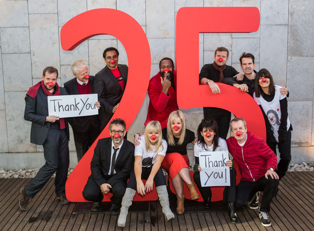 Comic Relief marks 25 years of Red Nose Day