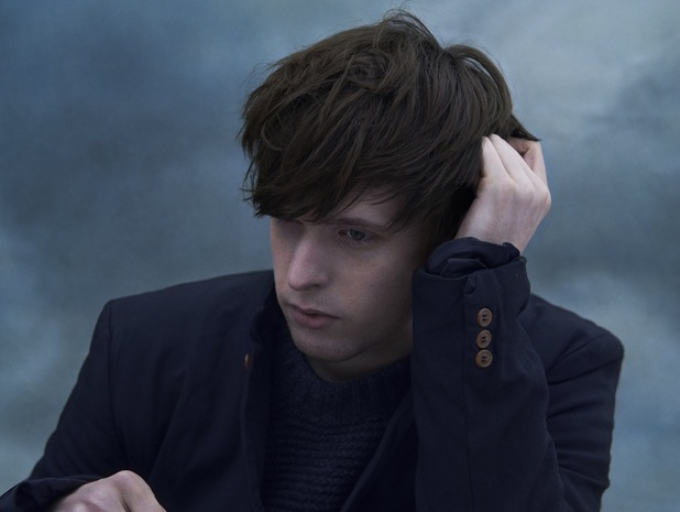 James Blake 'Overgrown' promo image.
