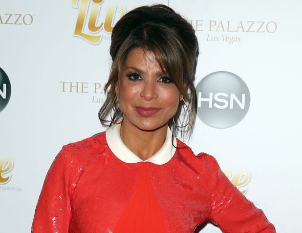 Paula Abdul attends a Concert Featuring Michael Bolton at The Venetian Resort and Casino.