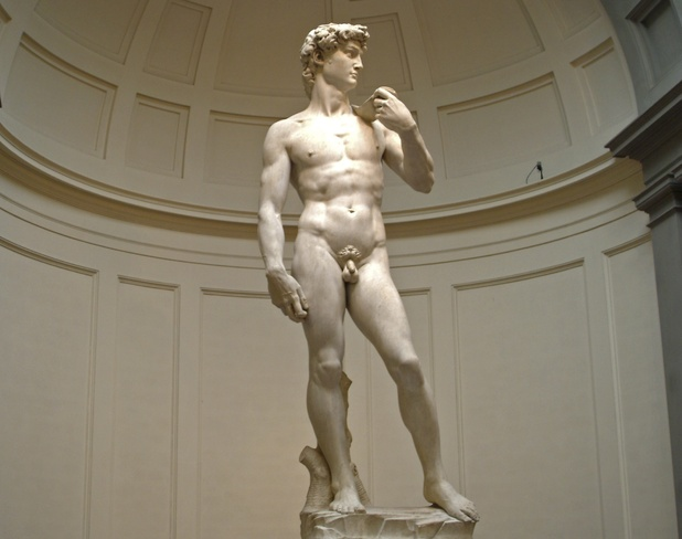 Statue of David; Florence, Italy