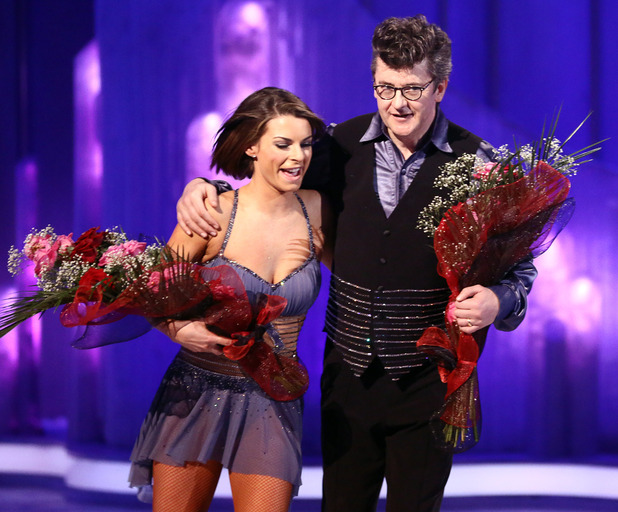 Joe Pasquale and Vicky Ogden.