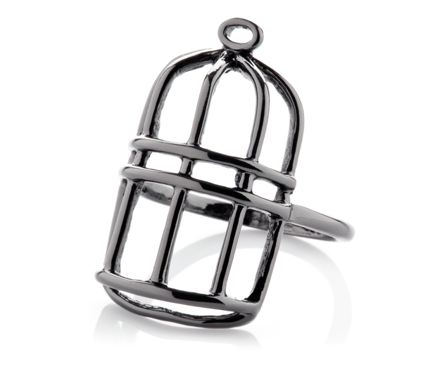 Florence + the Machine 'Flotique' jewellery collection - Birdcage ring