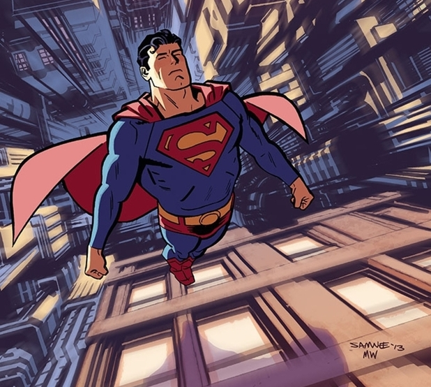 'Adventures of Superman' digital artwork