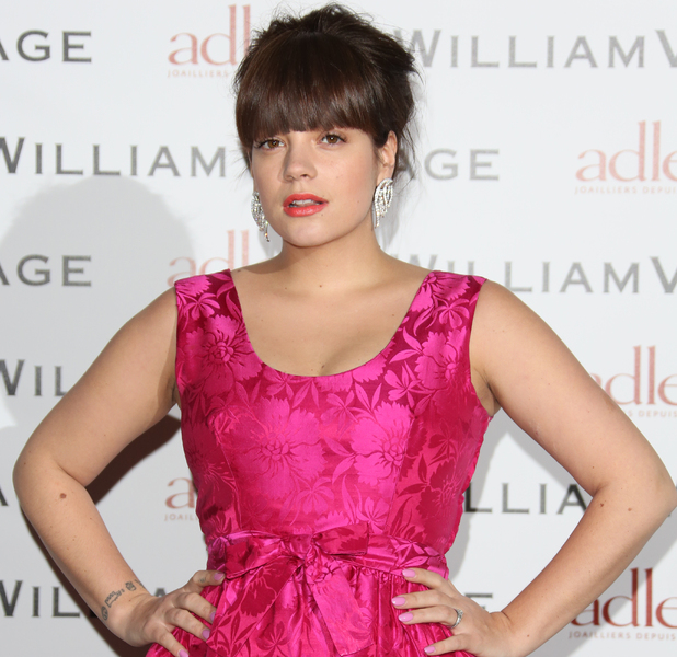 BAFTAs: WilliamVintage dinner held at St Pancras Renaissance London Hotel - ArrivalsFeaturing: Lily Allen aka Lily Cooper aka Lily Rose Cooper Where: London, United Kingdom When: 08 Feb 2013 Credit: Lia Toby/WENN.com