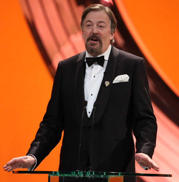 BAFTA Ceremony: Stephen Fry hosts the ceremony.