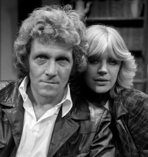 Marianne Faithfull and Peter Gilmore in 20/10/1975