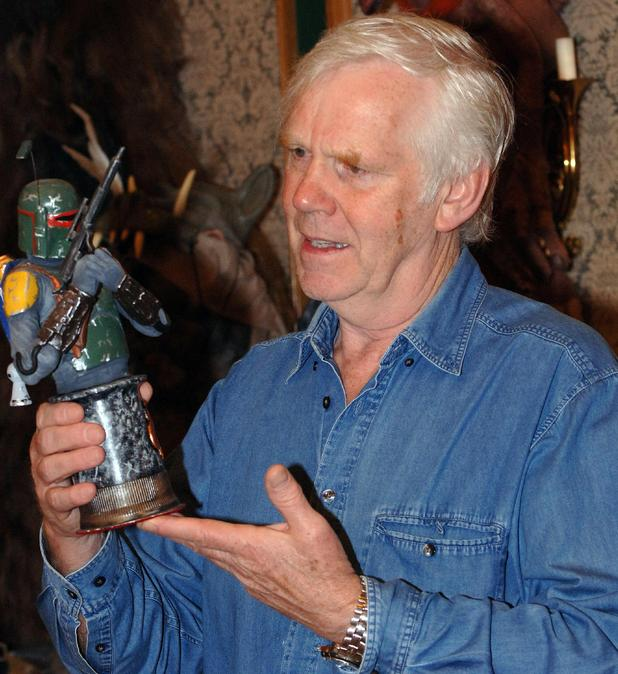 Jeremy Bulloch (Boba Fett) at the Starwars convention at the Marriott Hotel Swindon, England - 21.05.06
