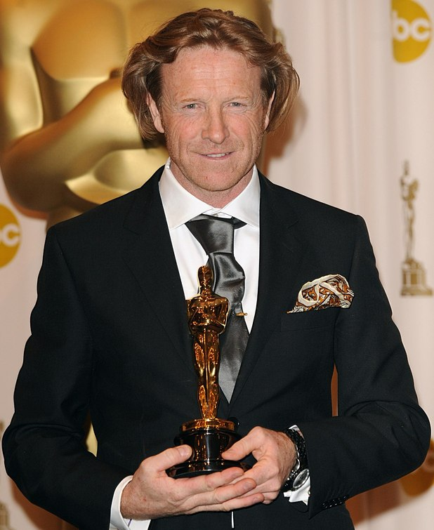 Anthony Dod Mantle with the Achievement in Cinematography award, received for Slumdog Millionaire, at the 81st Academy Awards