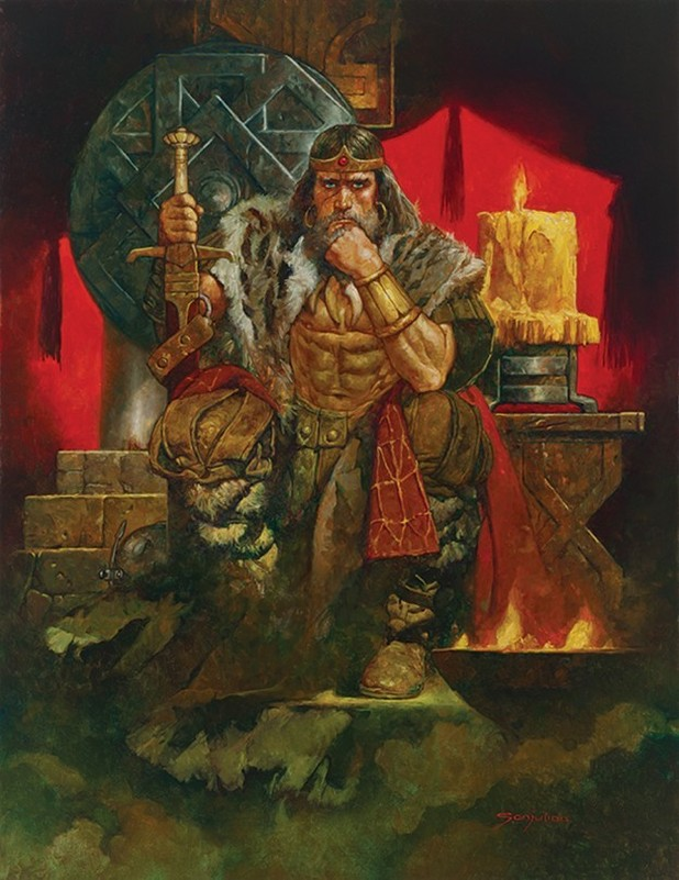 'King Conan: The Hour of the Dragon'' artwork