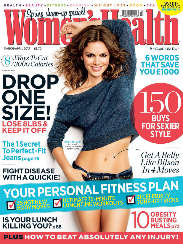 Rachel Bilson on the cover of 'Women's Health' magazine