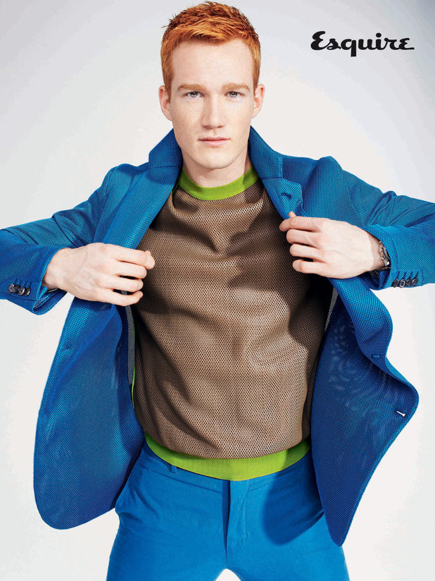 Greg Rutherford photo shoot for Esquire magazine, March issue