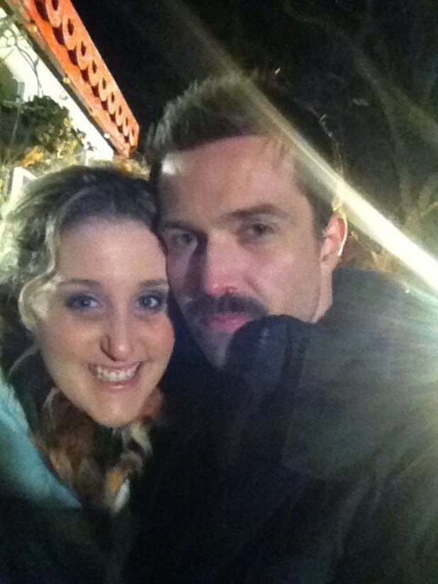 Emmett J. Scanlan&#39;s last day on Hollyoaks