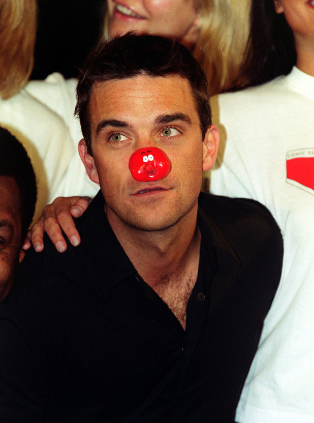 Robbie Williams, Comic Relief