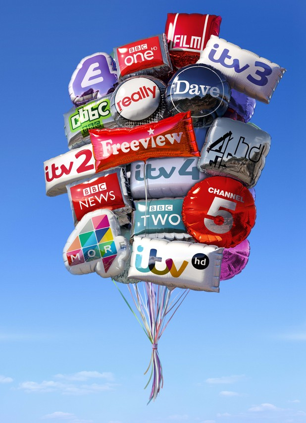 Freeview: New Marketing Brand Campaign 2013